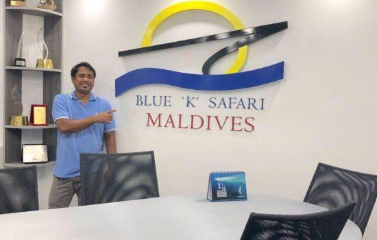 Blue K Safari Shaahid maldives