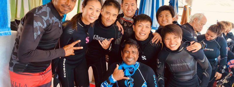 Diving Maldives Blue K Safari