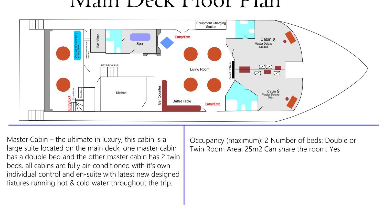 Main Deck Floor Plan