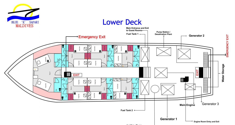 Soleil Floor Plan First Deck