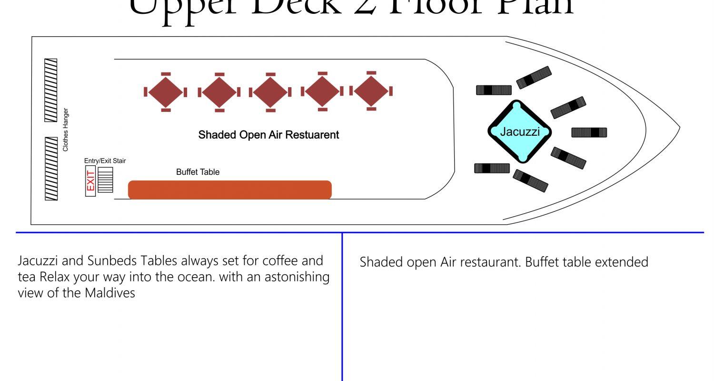 Upper Deck 2 Floor Plan