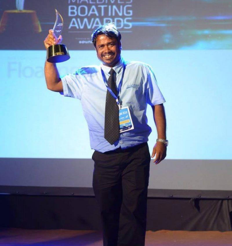 Winners of Boating Award - Ibrahim Shahid Blue K Safari Maldives