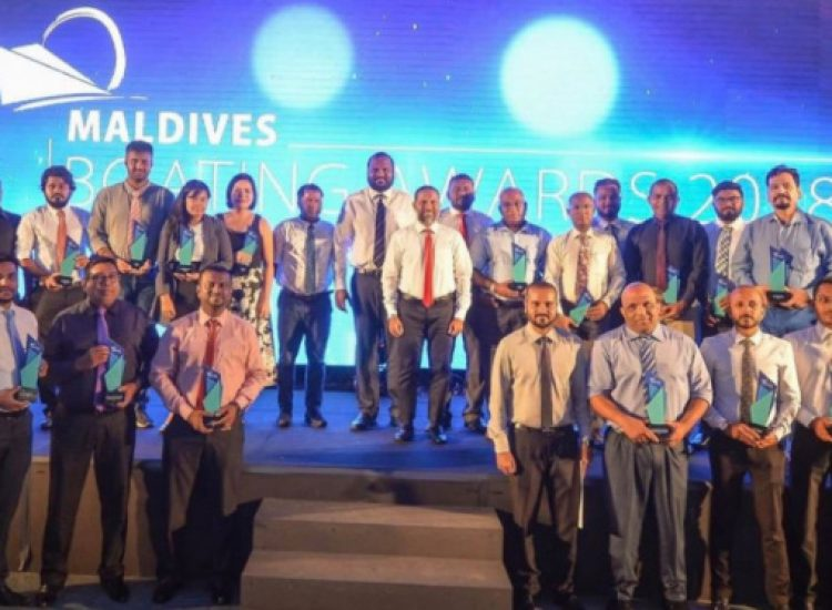 Winners of the 4th Maldives Boating Awards held in 2018 - Ibrahim Shaad