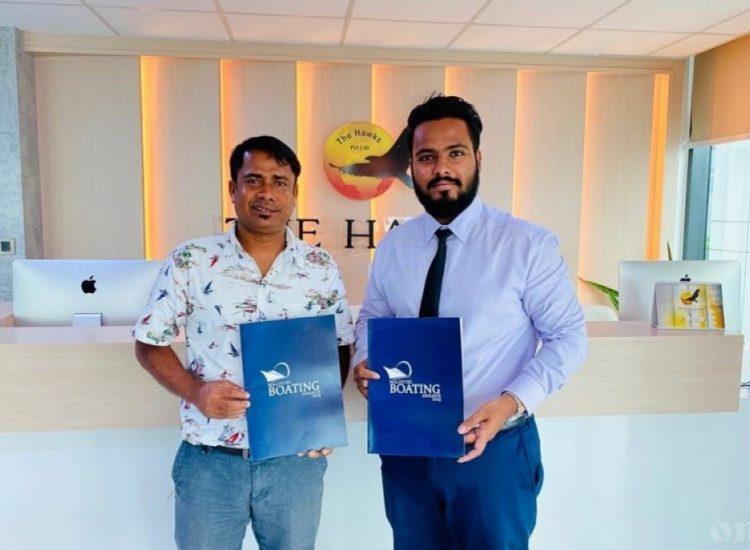 boating award Maldives Shad