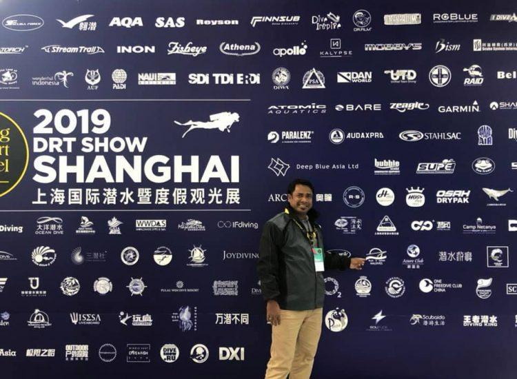 drt show shanghai 2019 Shaad Maldives Blue K safari